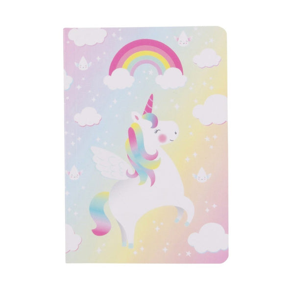 Quaderno Rainbow Unicorn | SASS & BELLE | RocketBaby.it
