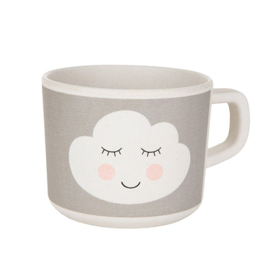 Tazza con Manico in Bamboo Sweet Dreams Cloud | SASS & BELLE | RocketBaby.it