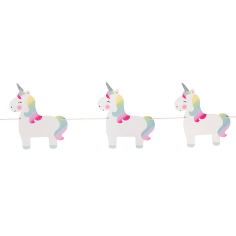 Ghirlanda Decorativa Rainbow Unicorn | SASS & BELLE | RocketBaby.it