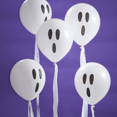 10 Palloncini Ghosts