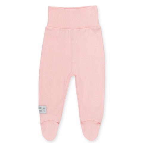 Pantaloni Con Piedini Happy Kids Rosa | PINOKIO | RocketBaby.it