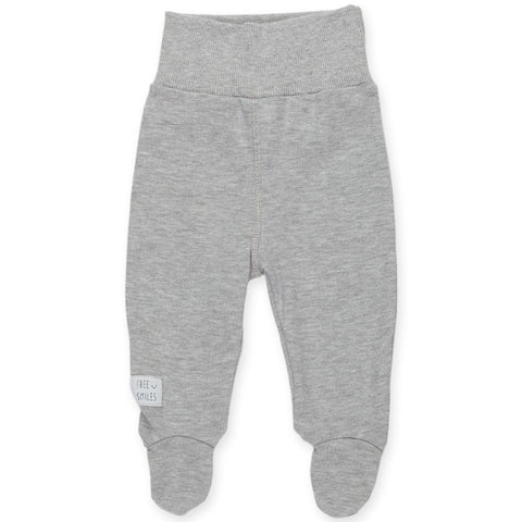 Pantaloni Con Piedini Happy Kids Grigio | PINOKIO | RocketBaby.it