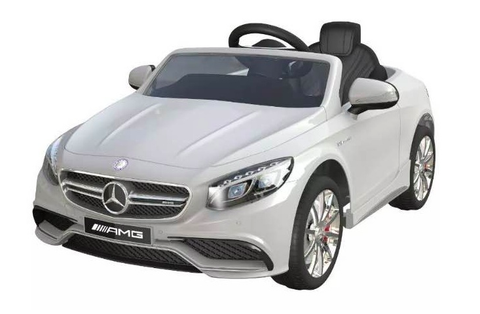 MERCEDES S 63 AMG BIANCA | BABYCAR | RocketBaby.it
