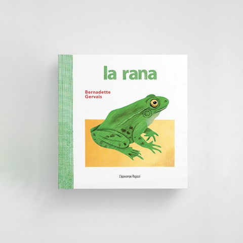 Libro La Rana | IPPOCAMPO | RocketBaby.it