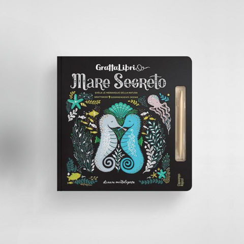 Libro Mare Segreto | IPPOCAMPO | RocketBaby.it