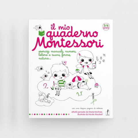 Libro Il Mio Quaderno Montessori | IPPOCAMPO | RocketBaby.it