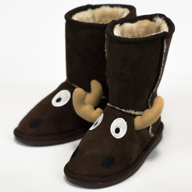 Babbucce Stivaletto Imbottite Moose | LAZY ONE | RocketBaby.it
