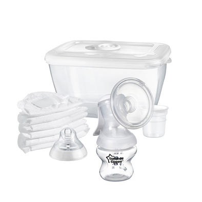 Set Tiralatte Manuale  e Biberon Closer To Nature | TOMMEE TIPPEE | RocketBaby.it
