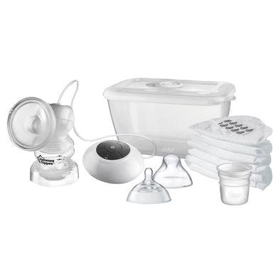 Set Tiralatte Elettrico e Biberon Closer to Nature | TOMMEE TIPPEE | RocketBaby.it
