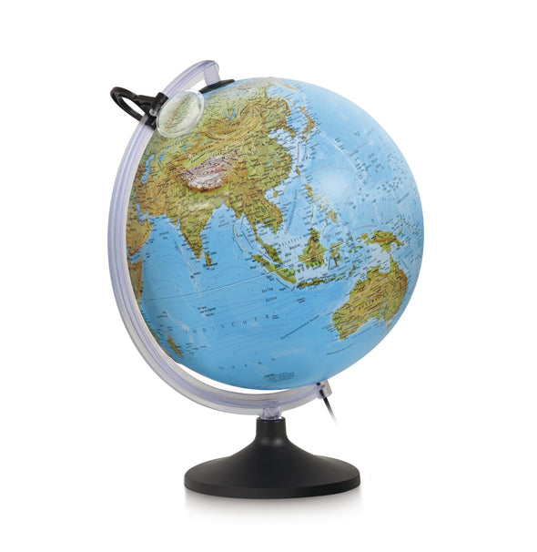 Mappamondo Uranio Con Lente 30 cm |  | RocketBaby.it