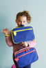 Lunch Bag Termica Super Eroe Blu e Azzurra - RocketBaby - 4