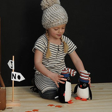 Pupazzo CARILLON Pinguino Ned | ESTHEX | RocketBaby.it
