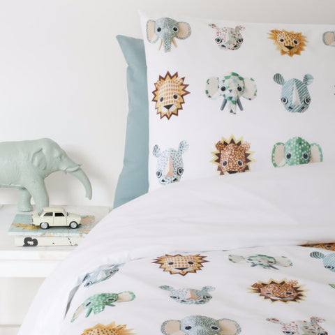 Copripiumino Wild animals Cool | STUDIO DITTE | RocketBaby.it