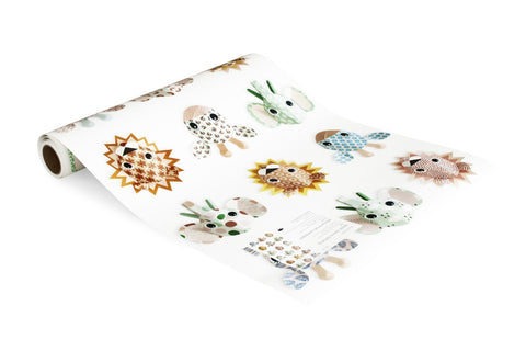 Carta da parati Wild Animals sweet - STUDIO DITTE - RocketBaby.it - RocketBaby