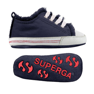 Sneakers Baby Superga Con Lacci Blue Navy | SUPERGA | RocketBaby.it
