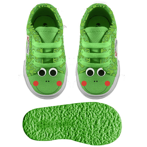 Sneaker Baby Superga con Lacci Frog | SUPERGA | RocketBaby.it