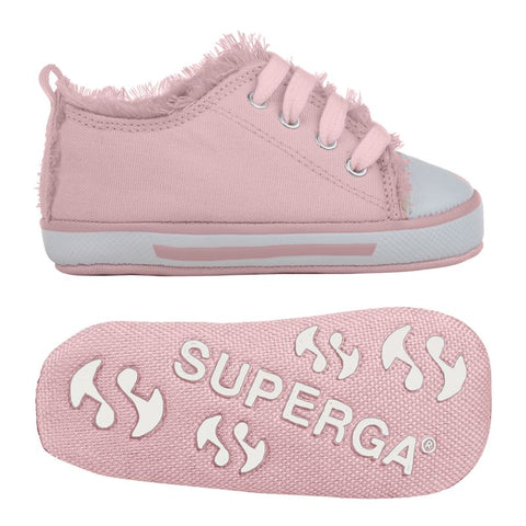 Sneakers Baby Superga Con Lacci Pink | SUPERGA | RocketBaby.it