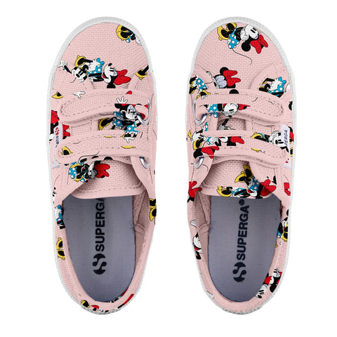Sneakers Baby Superga Con Strappi Pink Minnie Pose | SUPERGA | RocketBaby.it