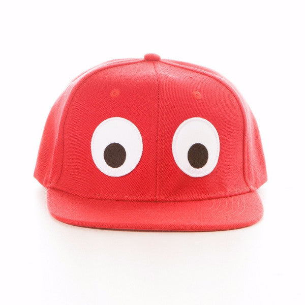 Cappellino Occhioni Kids Rosso - RocketBaby - 1