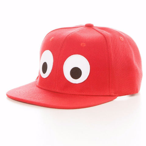 Cappellino Occhioni Kids Rosso - RocketBaby - 2