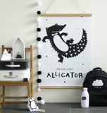 Poster da Muro Alligator | A LITTLE LOVELY COMPANY | RocketBaby.it