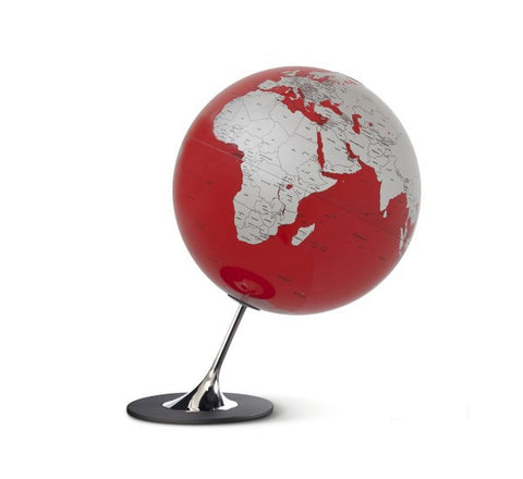 Mappamondo Anglo Red 25 cm - RocketBaby