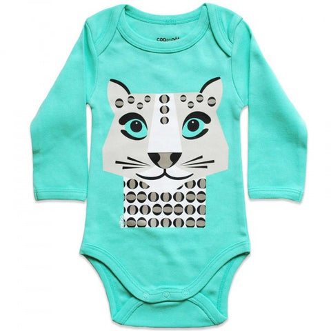 Kit body e bavaglino Leopardo Bianco - RocketBaby - 2