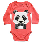 Kit body e bavaglino Panda - RocketBaby - 2