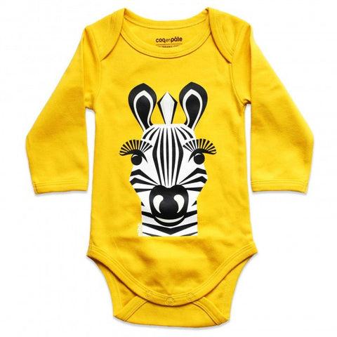 Kit body e bavaglino Zebra - RocketBaby - 2