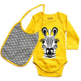 Kit body e bavaglino Zebra | COQ EN PATE | RocketBaby.it