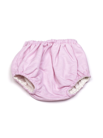 Culotte Double Face Baby Rosa e Bianche - RocketBaby - 1