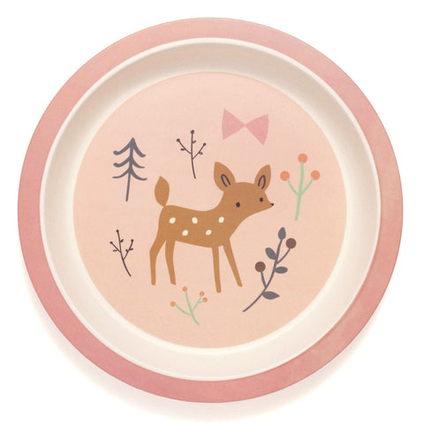 Piatto In Bamboo Deer | PETIT MONKEY | RocketBaby.it