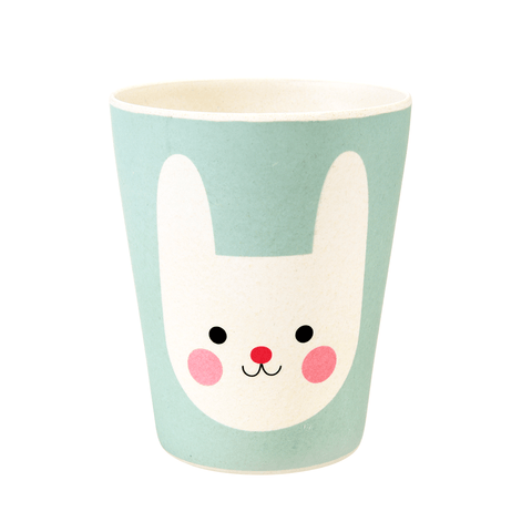 Bicchiere In Bamboo Bonnie The Bunny | REX LONDON | RocketBaby.it