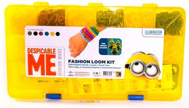 Valigetta braccialetti elastici Minions | ROLLY BRUSH | RocketBaby.it