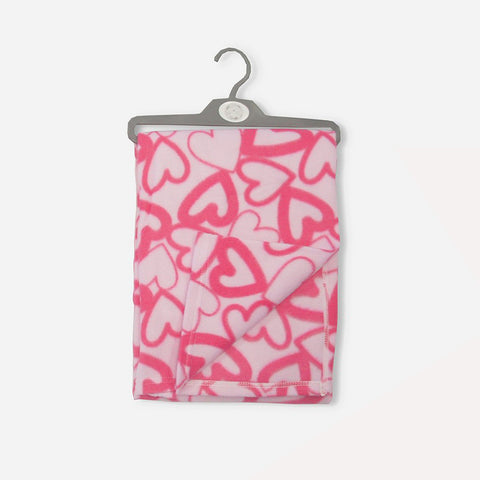 Coperta Baby Hearts Pink | MULTIPACK | RocketBaby.it