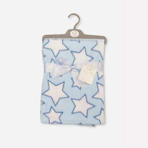 Coperta Baby Stars Blue | MULTIPACK | RocketBaby.it