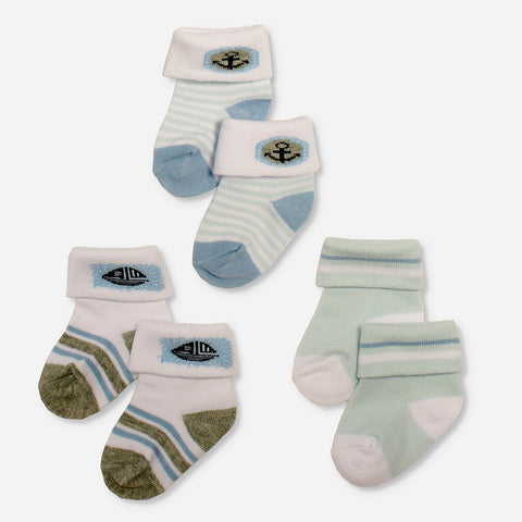Multipack 12 Calze Sailor Blue | MULTIPACK | RocketBaby.it