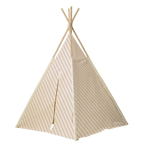 Tenda Teepee Degli Indiani Rosa | BLOOMINGVILLE | RocketBaby.it