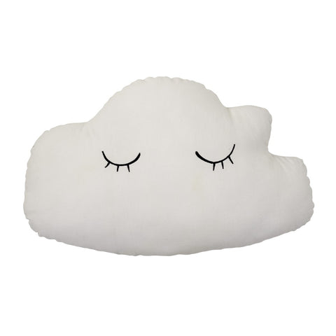 Cuscino Nuvoletta double face Rosa Bianco | BLOOMINGVILLE | RocketBaby.it