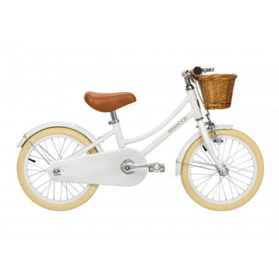 Bicicletta per Bambini Classic White | BANWOOD | RocketBaby.it