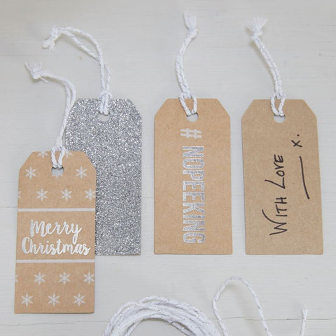 Bigliettini Regalo Christmas Metallics | GINGER RAY | RocketBaby.it