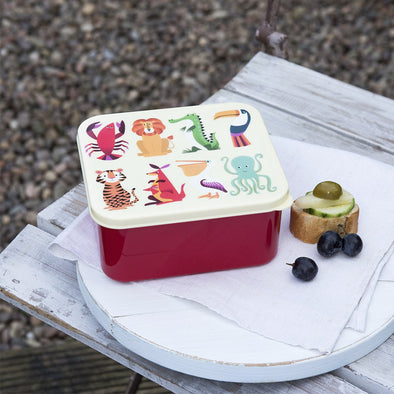 Lunch Box Colourful Creatures | REX LONDON | RocketBaby.it