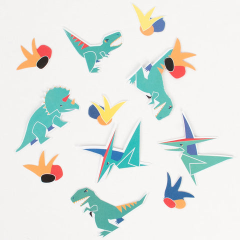 Decorazioni Da Tavolo E Coriandoli Dinosaur | MY LITTLE DAY | RocketBaby.it