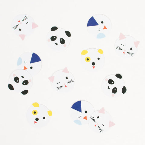 Decorazioni Da Tavolo E Coriandoli Mini Animals | MY LITTLE DAY | RocketBaby.it