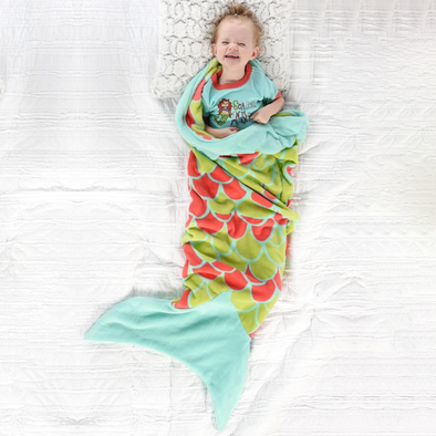Sacco Nanna XXL Mermaid Kids Sea | LAZY ONE | RocketBaby.it