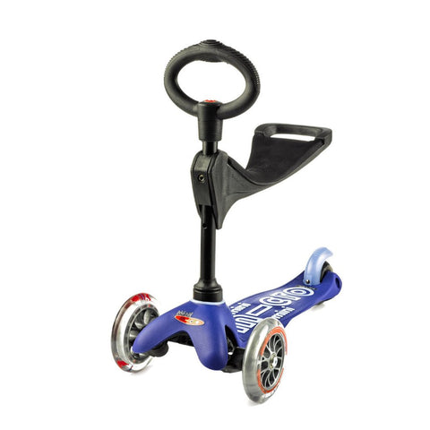 Monopattino Evolutivo Mini Micro Deluxe 3 in 1 Blu- da 1 a 5 Anni | MICRO MOBILITY | RocketBaby.it