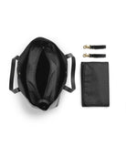 Borsa Fasciatoio Black Leather - RocketBaby - 3