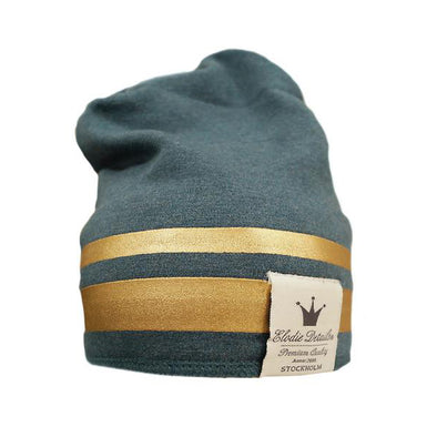 Cappellino Gilded Petrol Gold | ELODIE DETAILS | RocketBaby.it