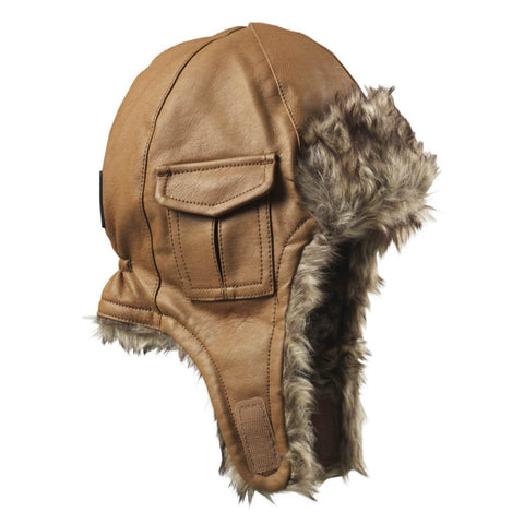 Cappellino Chestnut Leather - RocketBaby - 2