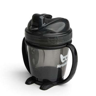 Sippy Cup con Cappuccio 140 ml Black | HEROBILITY | RocketBaby.it